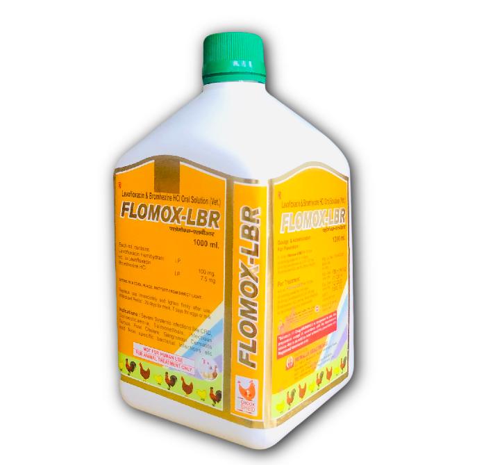 Levofloxacin + Bromhexine Poultry Liquid
